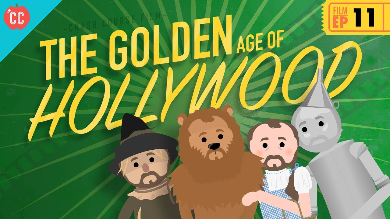 Crash Course: Craig Benzine- The Golden Age of Hollywood: Film History