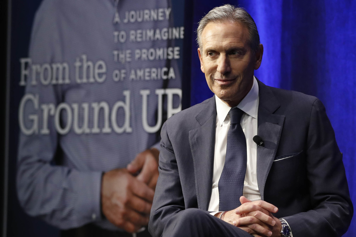 Politico Magazine: Derek Robertson- 'How Howard Schultz Created a Personality Cult at Starbucks'